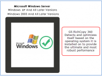 Supported On Windows Servers and Workstations (2003, XP and Later)